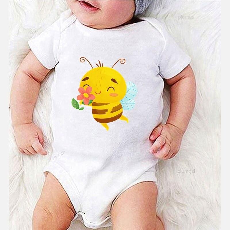 Body abeille hiver en coton pour bébé