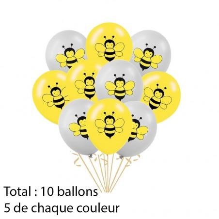 Ballons abeilles - modèle 2