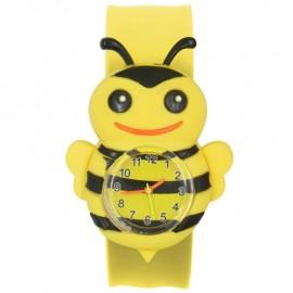 Montre-bracelet Abeille 3D à Quartz pour enfants - filles et garçon