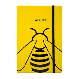 Carnet de notes et Journal intimeabeille jaune