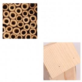 Maison en bois pour abeille détails