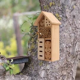 Maison en bois pour abeille
