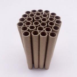 Recharges de Tubes en papier pour dortoir d'abeille - vue dessus