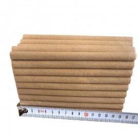 taille des Recharges de Tubes en papier pour dortoir d'abeille
