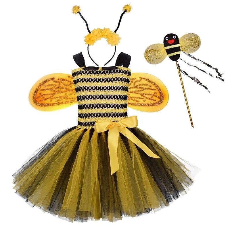Costume complet de fée abeille pour fille