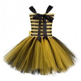 Costume complet de fée abeille pour fille- vue arriere