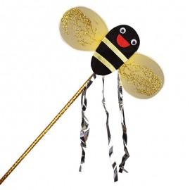 Costume complet de fée abeille pour fille baguette magique